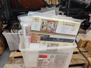 Paint able Canvas Kits