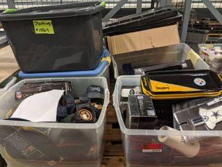 large lot Of NFl Decor Items
