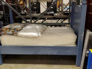 Twin Size Bed With Mattress and Box Spring
