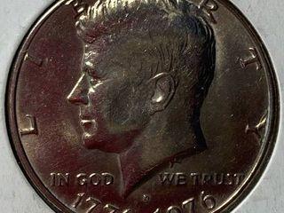 1776 1976 Kennedy Half Dollar