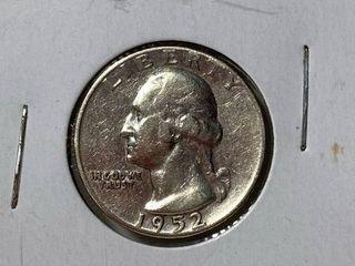1952 Washington Quarter Silver Dollar