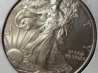2010 Silver Eagle Dollar   1 oz of  999 fine Silver