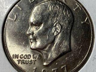 1977 Eisenhower Dollar