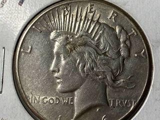 1926 Peace Silver Dollar   Very Collectible