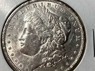 1890  1 Morgan Silver Dollar   Add to Your Collection