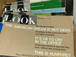 Assorted look magazines