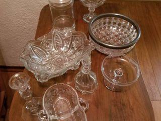 10 Pcs  Various Glass