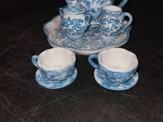Miniature Tea Set  10 pcs