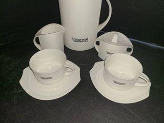 8 pcs  Porcelain Serving set  VIllEROY   BOCH