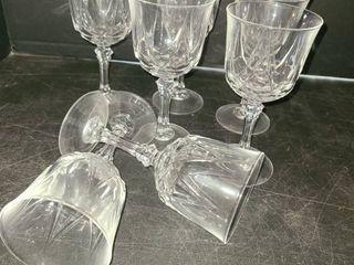 7 pcs  Wine Glasses