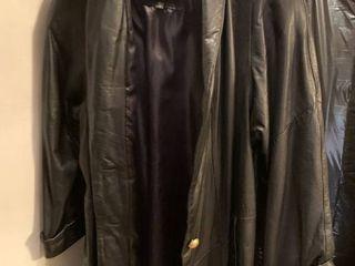 Wilsons leather coat medium