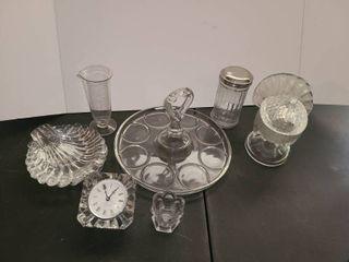 Miscellaneous Glass  9 pcs