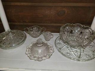 Miscellaneous Glass  8 pcs