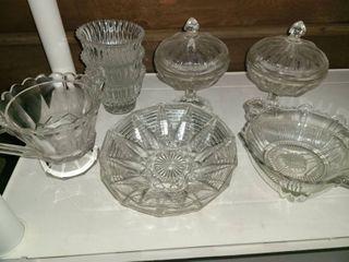 Miscellaneous Glass  12 pcs