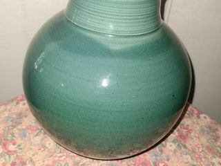 Vase  Green Teal