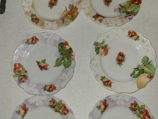 6 pcs  Fruit Plates