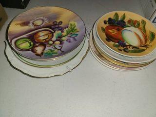 14 Pcs  Fruit Plates
