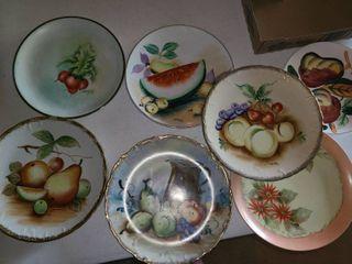 7 Pcs  Fruit Plates