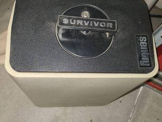SENTRY SURVIVOR Safe 17  tall x 8 5  wide x 13  deep