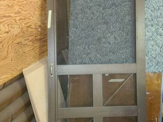 Screen Door 80 5  tall x 3ft  wide x 1