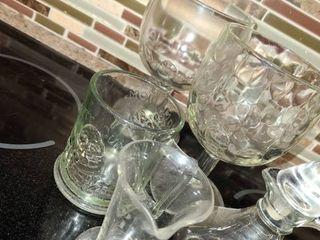 Bric N Brac  2 Beer Mugs  Coffee Cup  Vinegar Holder  and Measuring Cup