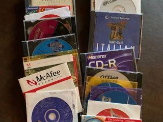 Assortment of software