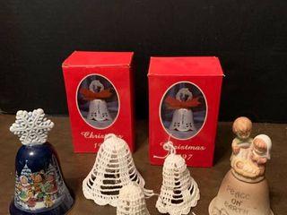 Assorted Christmas bells
