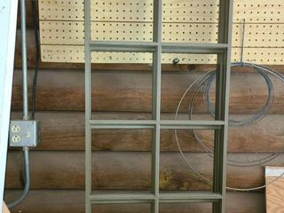 Window Frames Plastic  4   55  x 20  x  5  2  43  x 20  x  5  Total of 6 Panes