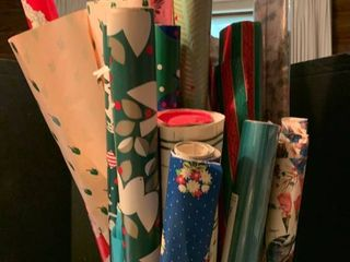 Assorted Christmas wrap
