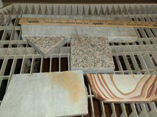 5 pcs  Scrap Granite  Marble Pieces