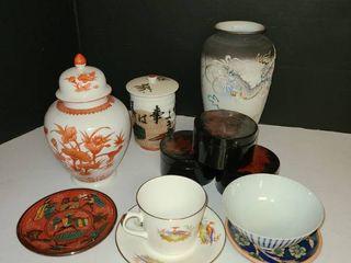 Oriental China  Various China 18pcs