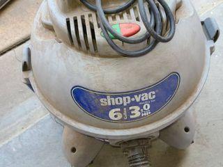 ShopVac 6 Gallon 3 0 Horse Power