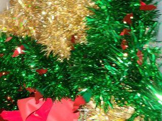 Assortment of Christmas garland