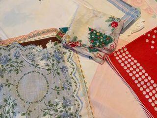 Assorted handkerchiefs