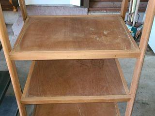 Wooden Shelf 45  x 27  x 22