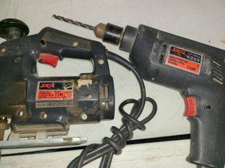 SKIl Jig Saw SKIl Variable Speed Drill