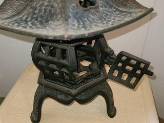 Cast Iron Oriental Pagoda Yard lantern