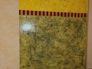 Beeswax  Acrylic on Panel by Matthew Hilyard 35 5 x 24