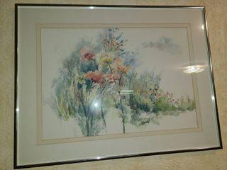 Watercolor by Eileen Jones  Spring Things  20 x 26