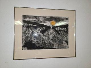 landscape I by Judy Dove 26 x 21