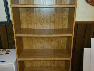 5 Shelf Book Case 71 x29 x12