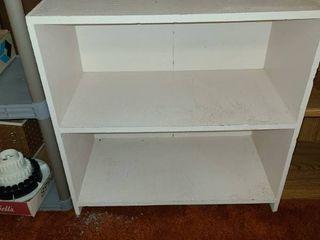 2 Shelf Bookcase 30 x 30 x 15