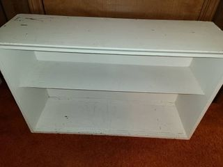 2 Shelf Bookcase  23 x 36 x 11 5