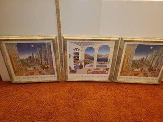 3 Framed  Thomas McKnight  Prints