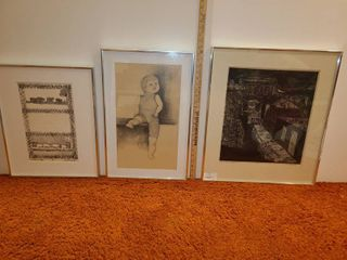 3 Art Pieces