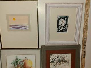 4 pcs  of Various Art