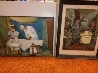 2 Art Pieces