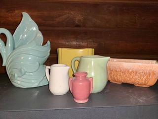 6 pcs  Miscellaneous Ceramics