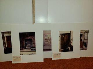 5 Photographs of  Doors