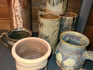 8 Pcs  Miscellaneous Pottery